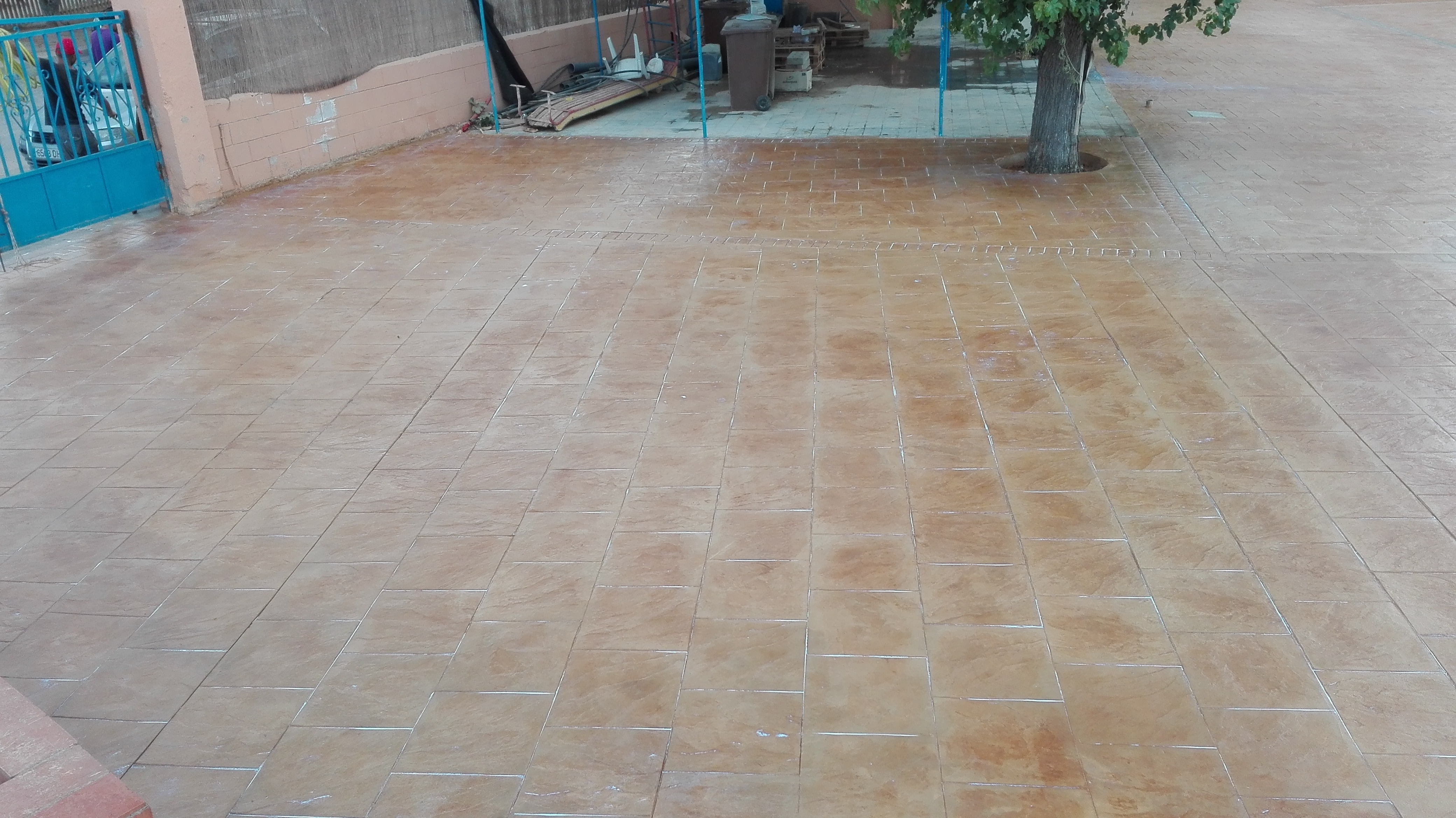 Pavimentos hormigon pulido pavimento pulido with for Cemento impreso madrid